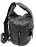 Large Special Design Genuine LEATHER 2 in 1 Backpack Sling Bag