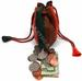 Soft Leather Coin Pouch Drawstring Closure Multi-Color
