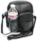 Soft Leather Travel Organizer Pack with Water Bottle Holder Light