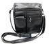 Soft Leather Cross Body Shoulder Bag Flap Belt Loop Light Wt