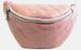 Quilted Soft PU LEATHER Fanny Pack Single Zipper  5 Color