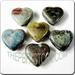 Raku glazed JEWELRY pendant - Heart
