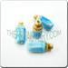 Ceramic JEWELRY multi colored shaped bead - L. Bl Baby Bottle