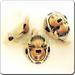 01- Ceramic JEWELRY oval shaped pendants - Buffalo
