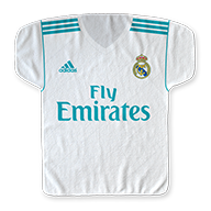 Real Madrid CF 22'' x 23'' Jersey-Shaped Sport TOWEL
