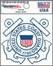 36 Pack of U.S. Coast Guard Licensed DECALs - USA
