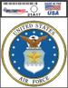 36 Pack of U.S. Air Force Licensed DECALs - USA