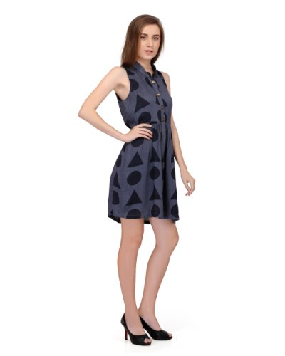 Stitch circle women? ladies comfy summer DRESS in rayon