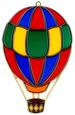 Large Hot Air BALLOONs Suncatcher