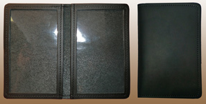 LEATHER Case for Government ID