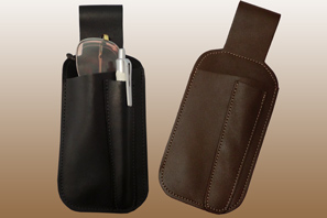 Leather belt pouch-Spare Pocket