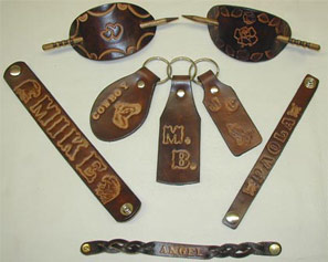 Hand Tooled LEATHER Goods