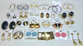 Pierced Earrings Assortment - 72 Vinttage Styles