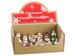 2.5''-4'' Assorted CHRISTMAS Stamp Ornament (18 ea./set) Mixed(BULK
