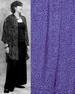 Batik Button Down Oversize SHIRT for Women in Purple 2-Tone Batik