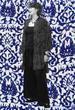 Batik Button Down Oversize SHIRT for Women in Blue & White Batik