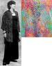 Batik Button Down Oversize SHIRT for Women - Multicolor Web Batik