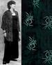 Batik Button Down Oversize SHIRT for Women in Green Bamboo Batik