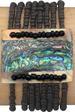 Rectangle Paua Shell Elastic Bead BRACELET